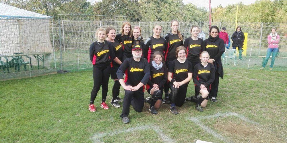 Cardinals bei der DM Softball Juniorinnen in Wesseling