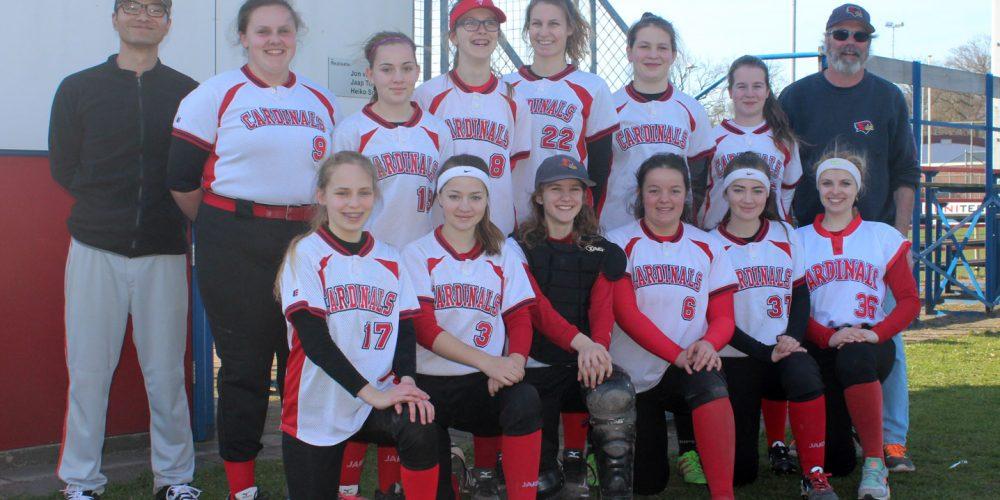 Erfolgreicher Start für die Cardinals Juniorinnen