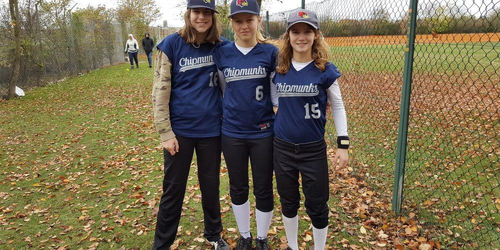 Drei Cards bei der Softball DM Jugend