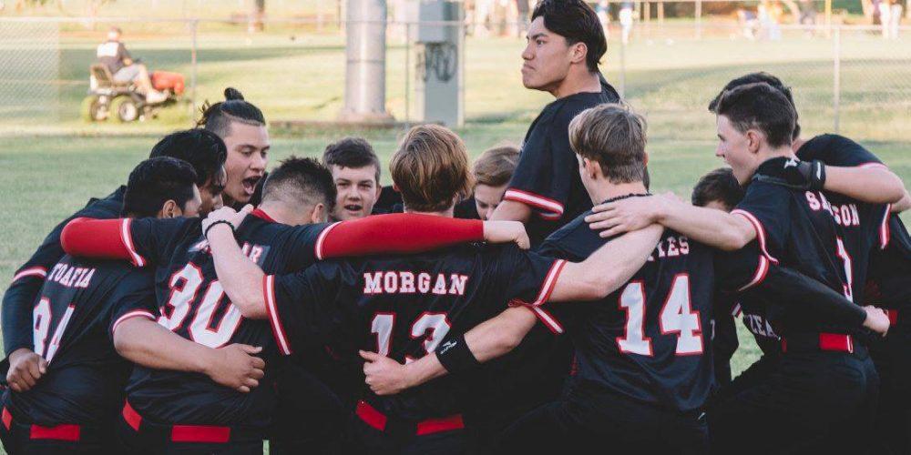 Neuseeländisches U17 FP Softball Auswahl-Team zu Gast