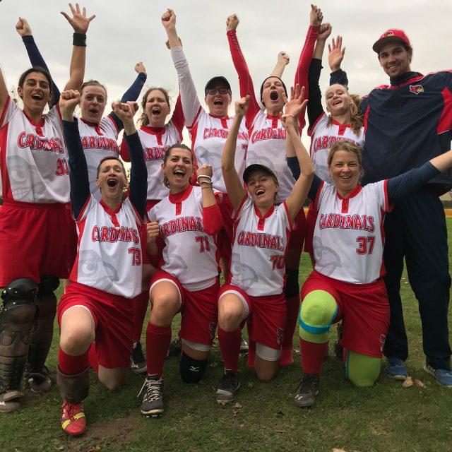 Zufriedenstellender Saisonabschluss für die Cardinals-Damen in Minden