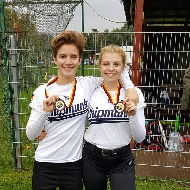 Cards bei der Softball U19 DM in Kiel