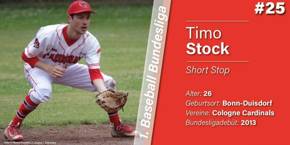 VORSTELLUNG DER SPIELER: TIMO STOCK