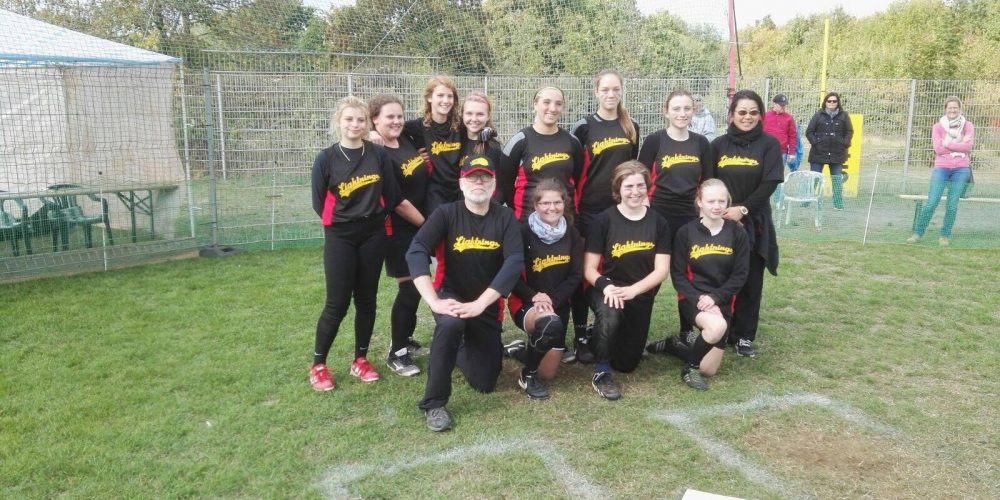 Cardinals bei der DM Softball Juniorinnen in Wesseling