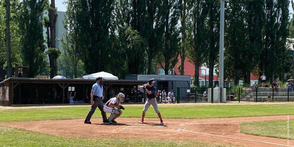 Baseball Bundesliga: Pitcher mit rabenschwarzem Tag