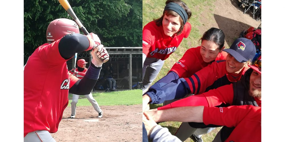 Erster Heimspieltag des Mixed Fastpitch Softballteam (formerly known as FunCards)