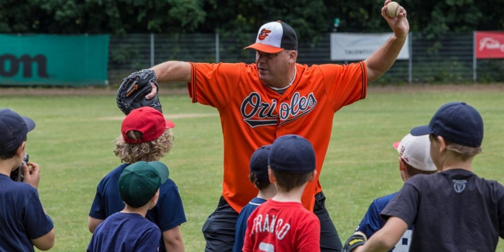 Legends for Youth Baseball Camp bei den Cardinals ein toller Erfolg!