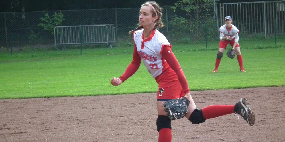 Softball-Damen: Letzter Heimspieltag doppelt gewonnen