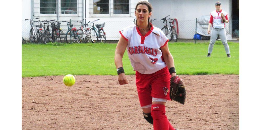 Erster Spieltag der Cardinals-Damen mit Split gegen die Ratingen Goose-Necks